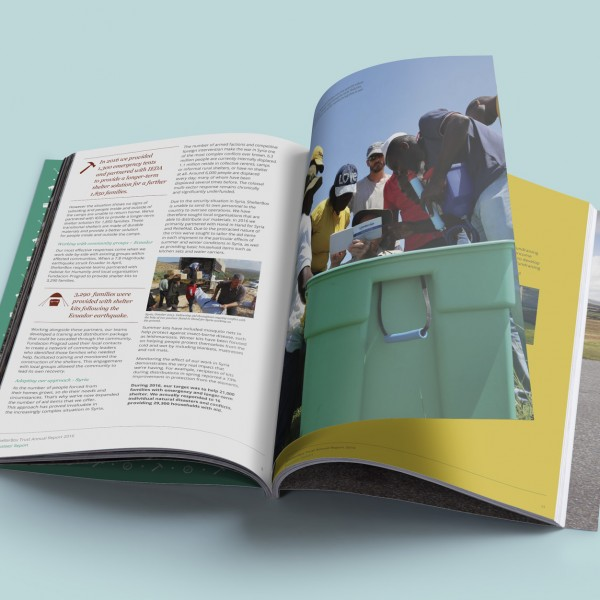 ShelterBox Annual Report 2016